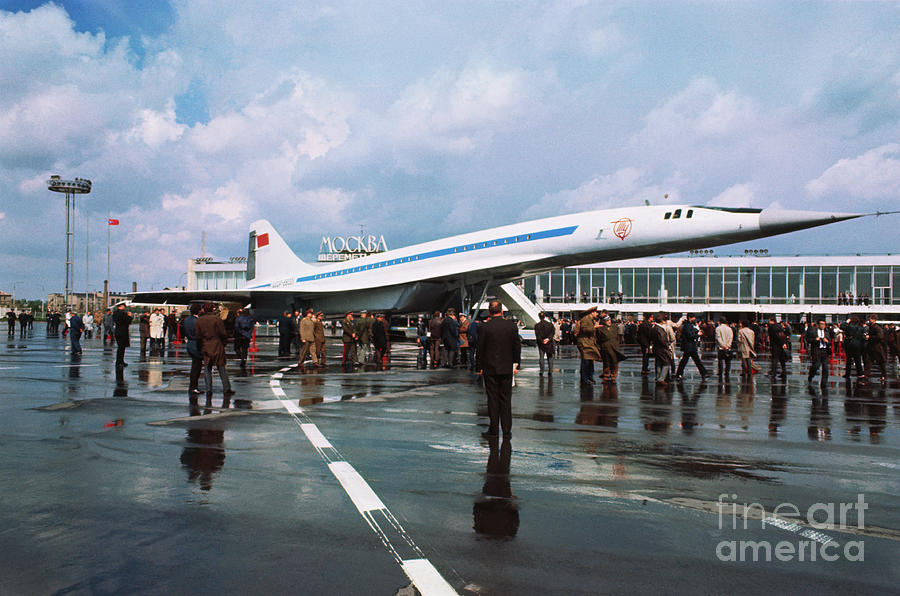Russias Supersonic Airliner Photograph by Bettmann