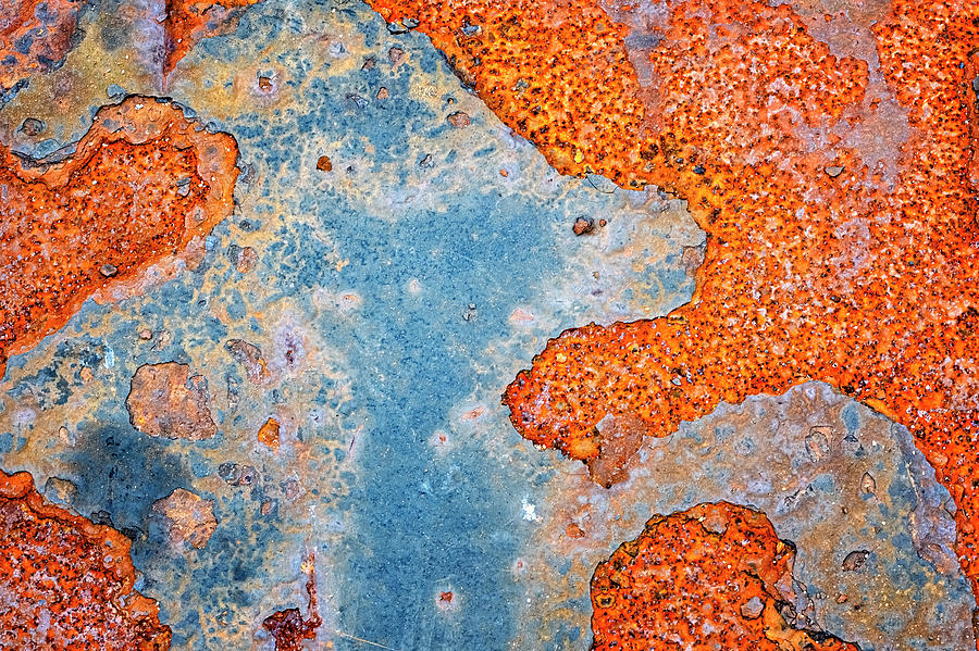 Rust Abstract by Tom Singleton