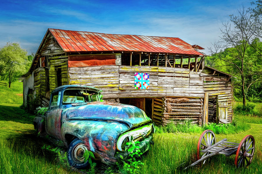 Appalachia Photograph - Rust Along A Country Road by Debra and Dave Vanderlaan