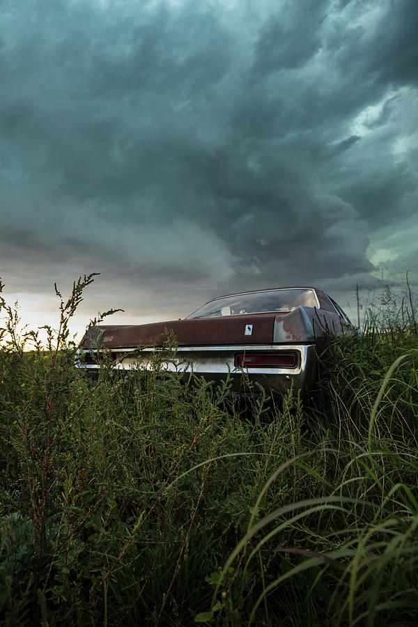 Country Road Photograph - Rust In The Wind  by Aaron J Groen