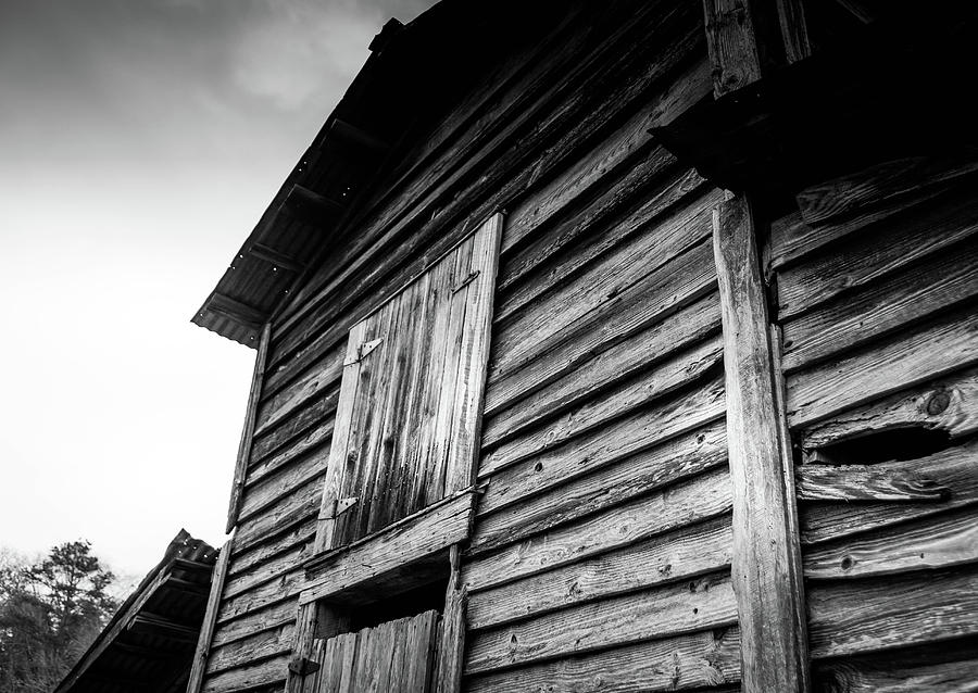 Rustic Barn in BW by Doug Camara