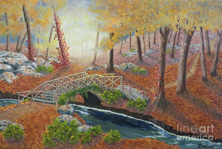 Rustic Bridge in the Mullerthal by Beverly Theriault