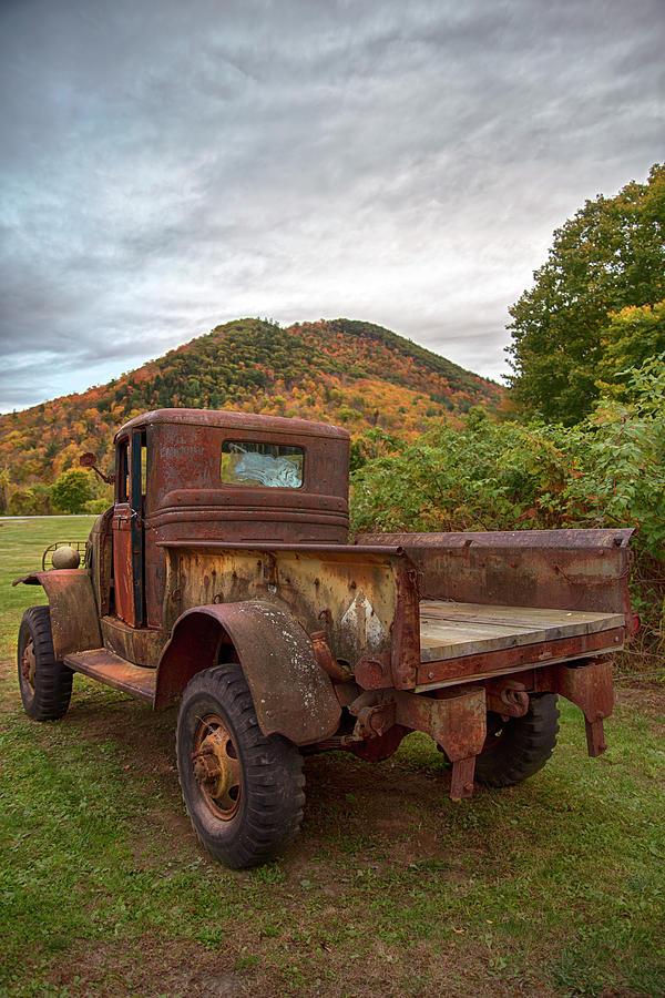 Rustic Classic Dodge Truck by Joann Vitali