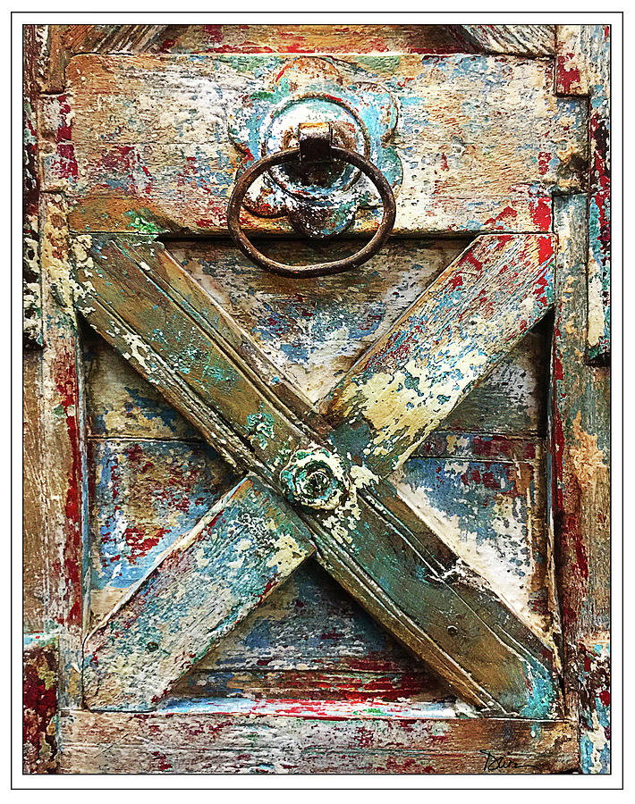 Rustic Door by Peggy Dietz