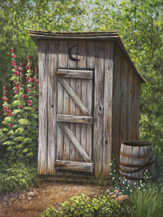 Rustic Rest Stop by Kim Lockman