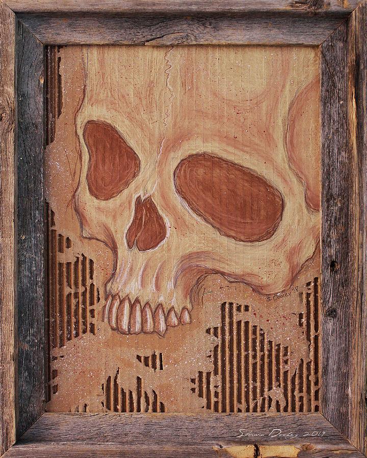 Rustic Skull by Shawn Dooley