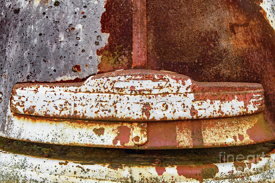 Rusting Away Chevrolet by Kevin Anderson