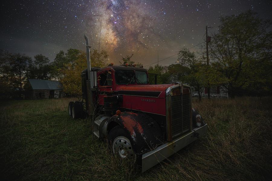 Truck Photograph - Rusty  by Aaron J Groen