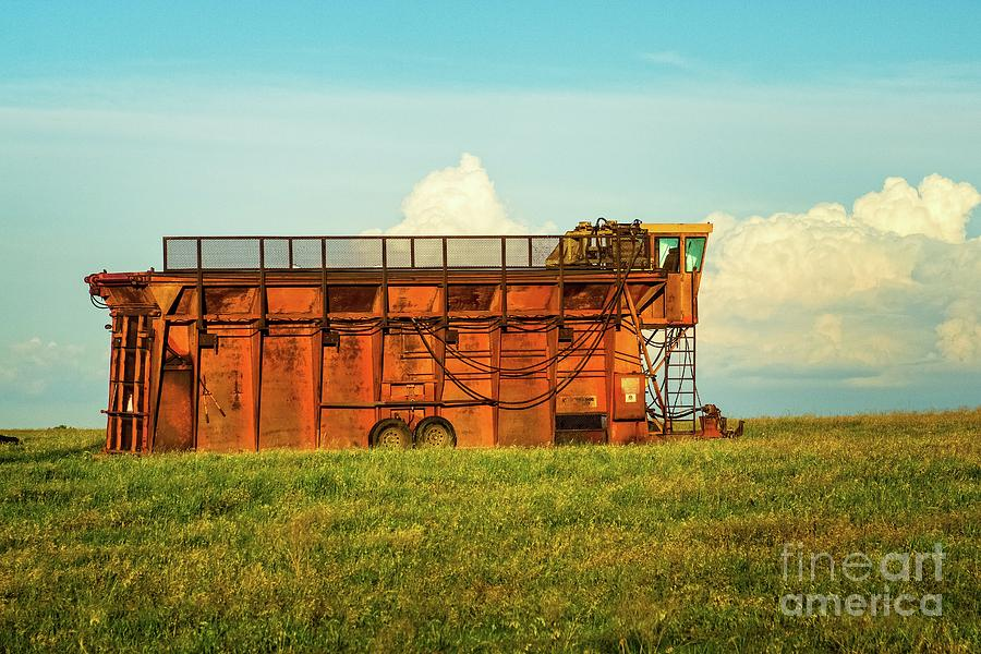 Rusty Cotton Baler  by Imagery by Charly