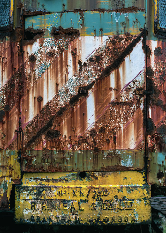Rusty Crane by Dave Bowman
