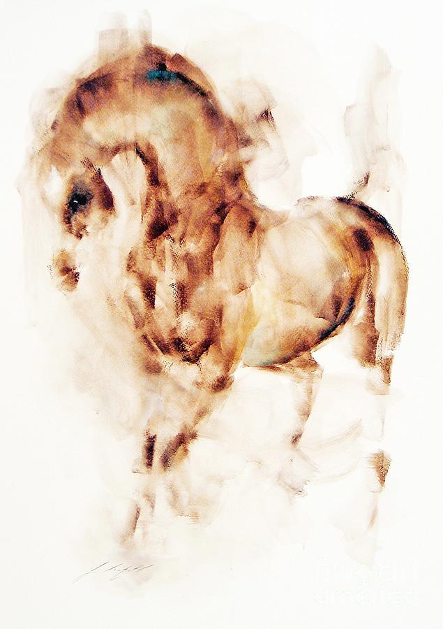 Rusty Painting by Janette Lockett