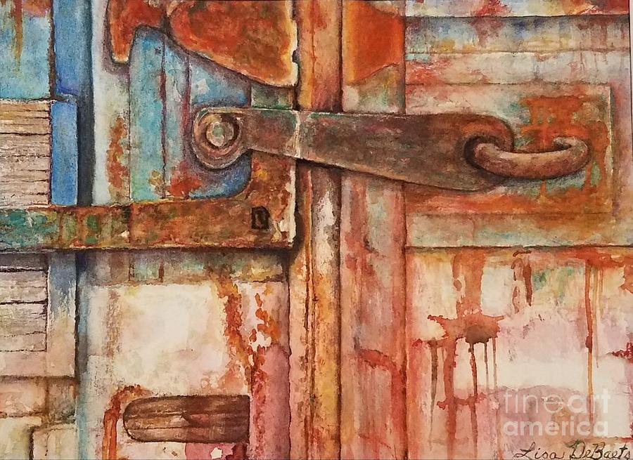Rusty Latch cropped by LISA DEBAETS