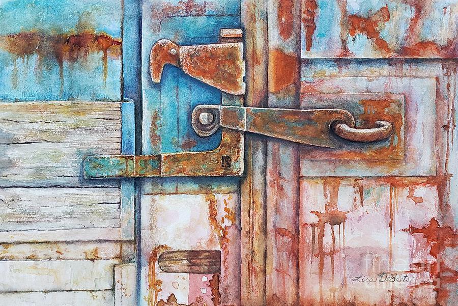 Rusty Latch by LISA DEBAETS