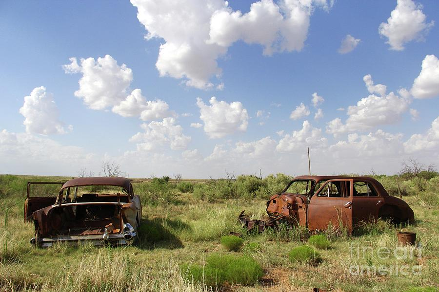 Rusty Old Friends by Suzanne Oesterling