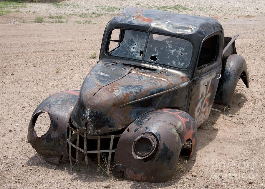Rusty Pickup, 2006 by Carol Highsmith