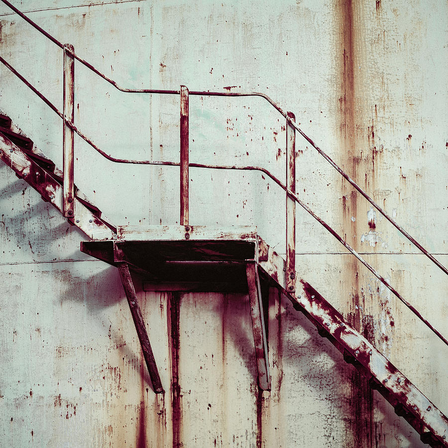 Rusty Steps by Dave Bowman
