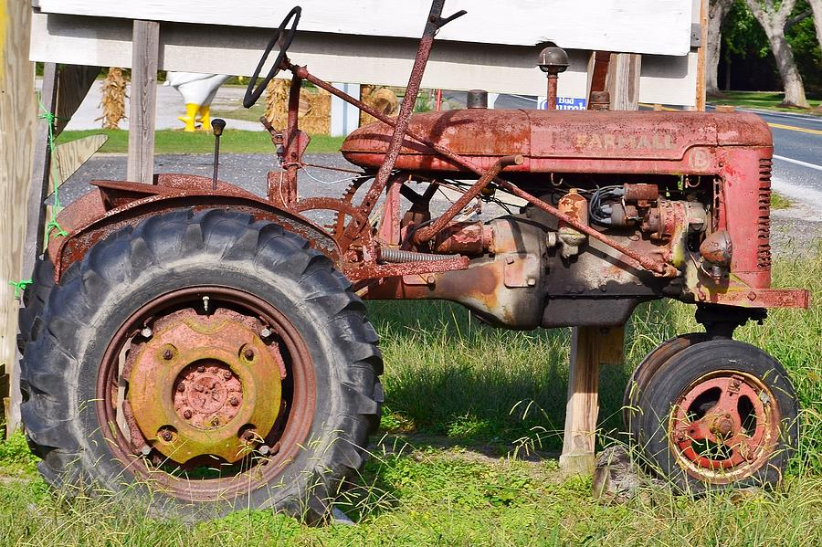 Rusty Tractor by Kim Bemis