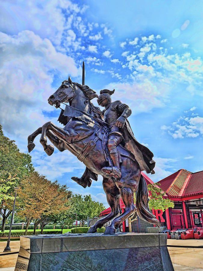 Rutgers Victory Statue # 3 Photograph