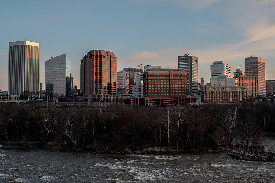 RVA Cityscape from The Flood Wall by Doug Ash