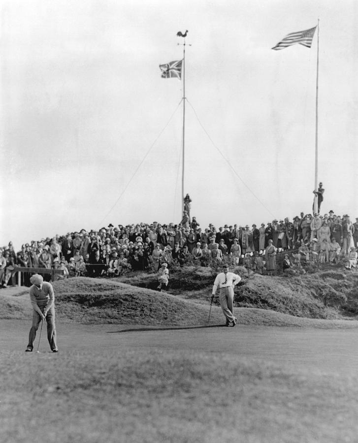 Ryder Cup Photograph by Fox Photos