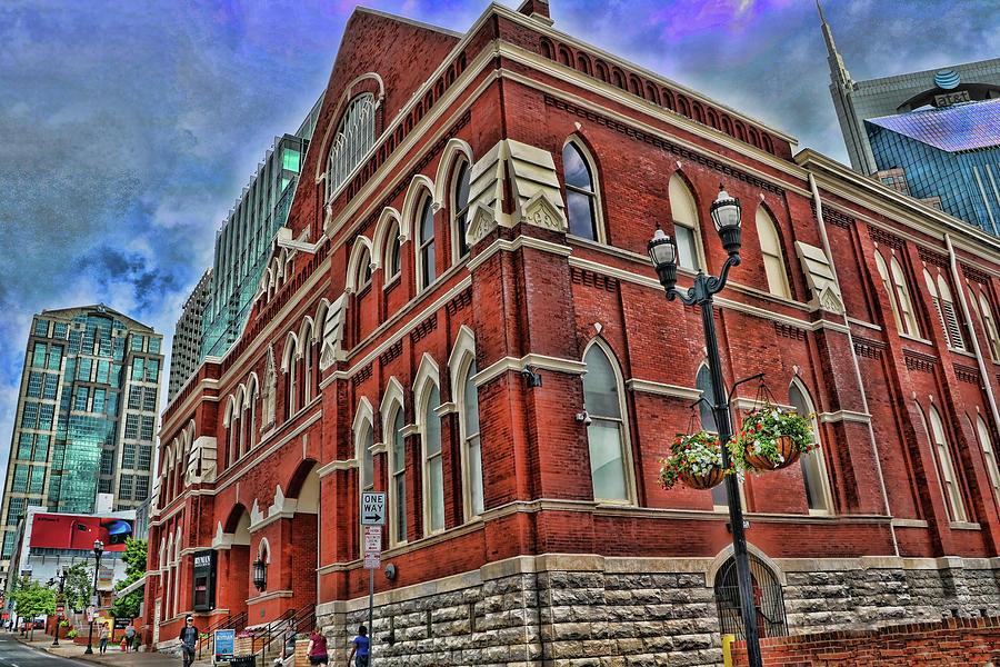 Ryman Auditorium - Nashville Photograph