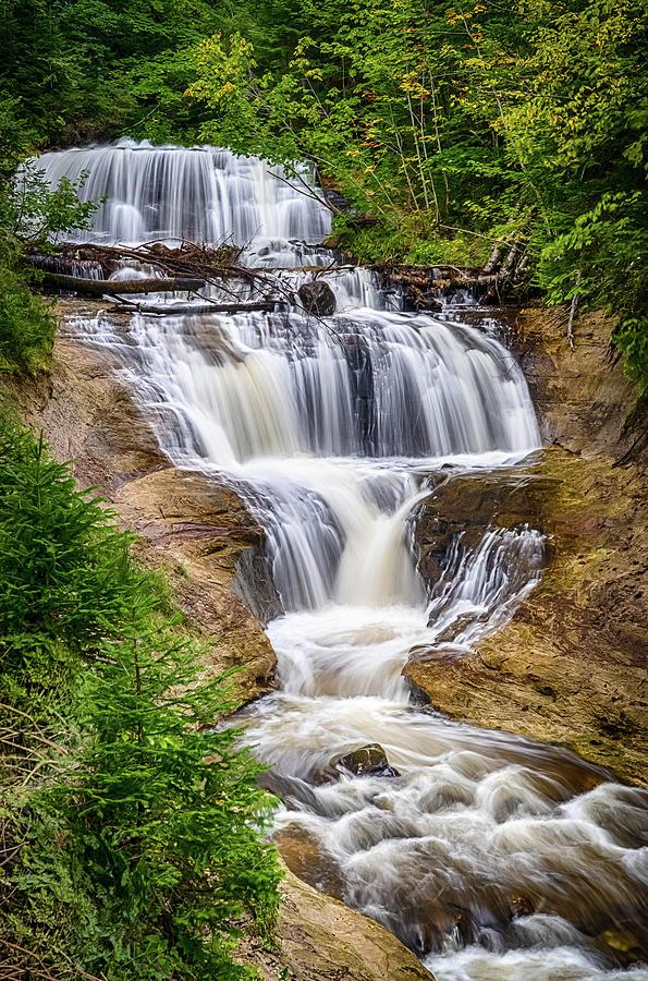 Sable Falls by Brad Bellisle