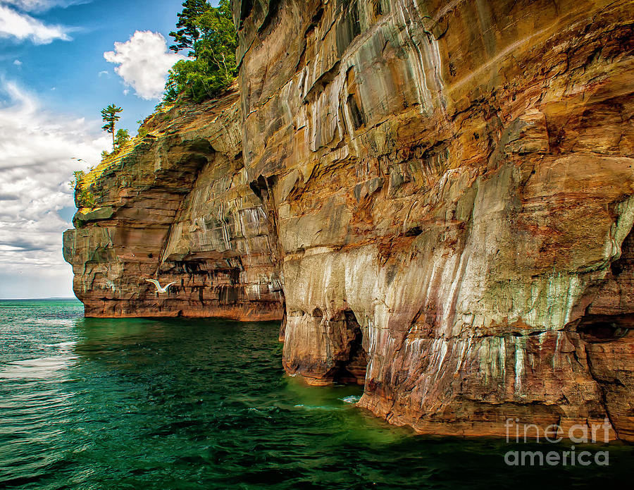 Michigans Pictured Rocks by Nick Zelinsky