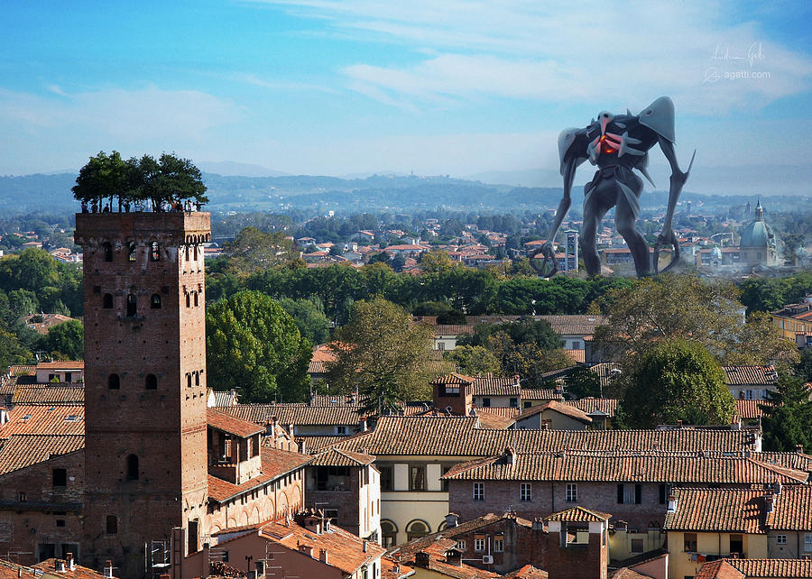 Sachiel In Lucca Digital Art