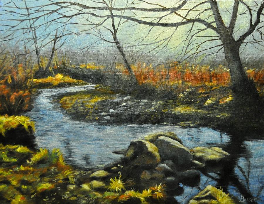 Sacket Brook by Valerie Bassett