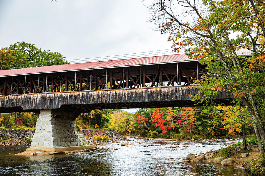 Saco River Covered Bridge by Robert Clifford