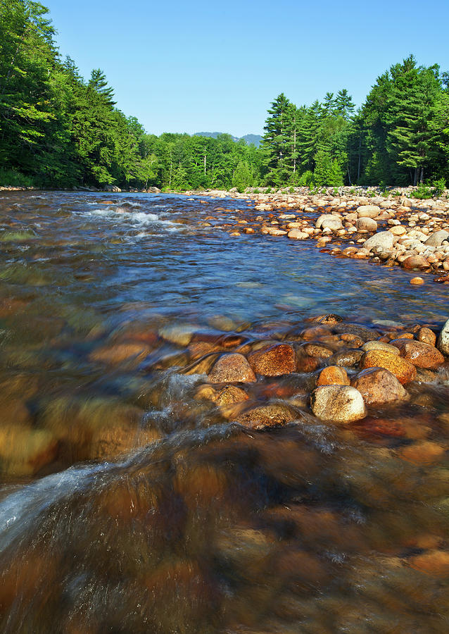 Saco River Rapids Photograph by Wholden