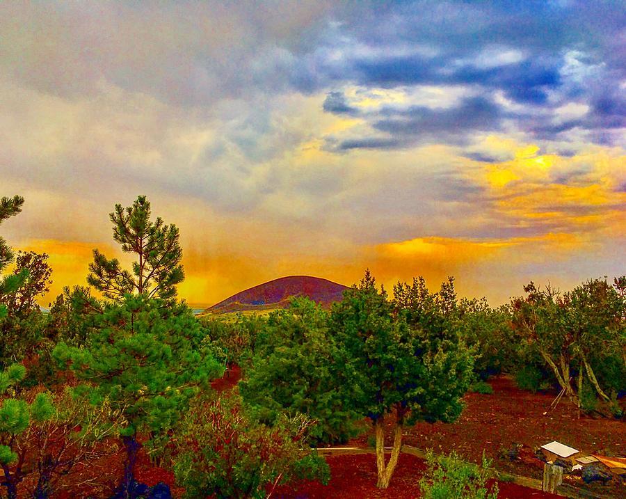 Sacral Energies After the Monsoon Rain by Michael Oceanofwisdom Bidwell