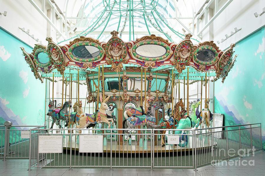 Carousel Photograph - Sacramento Carousel by Marilyn Cornwell