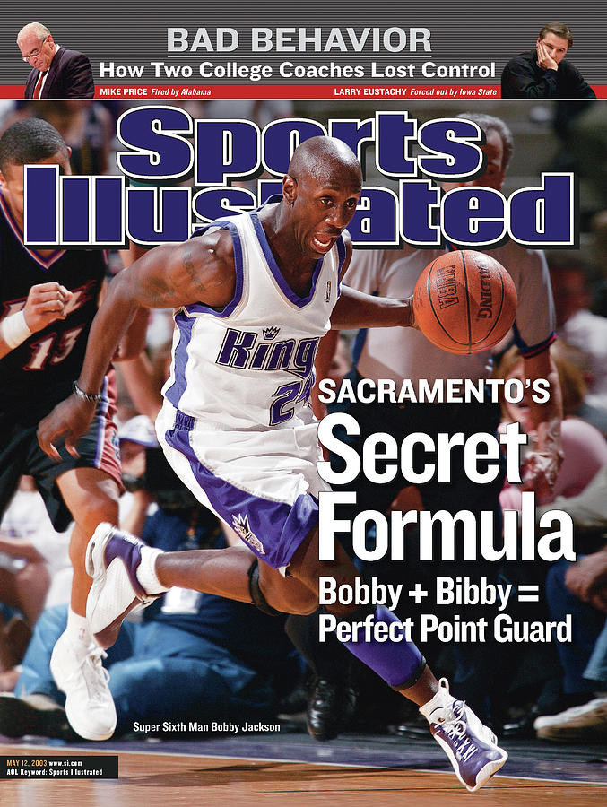 Sacramento Kings Vs Utah Jazz, 2003 Nba Western Conference Sports Illustrated Cover Photograph by Sports Illustrated