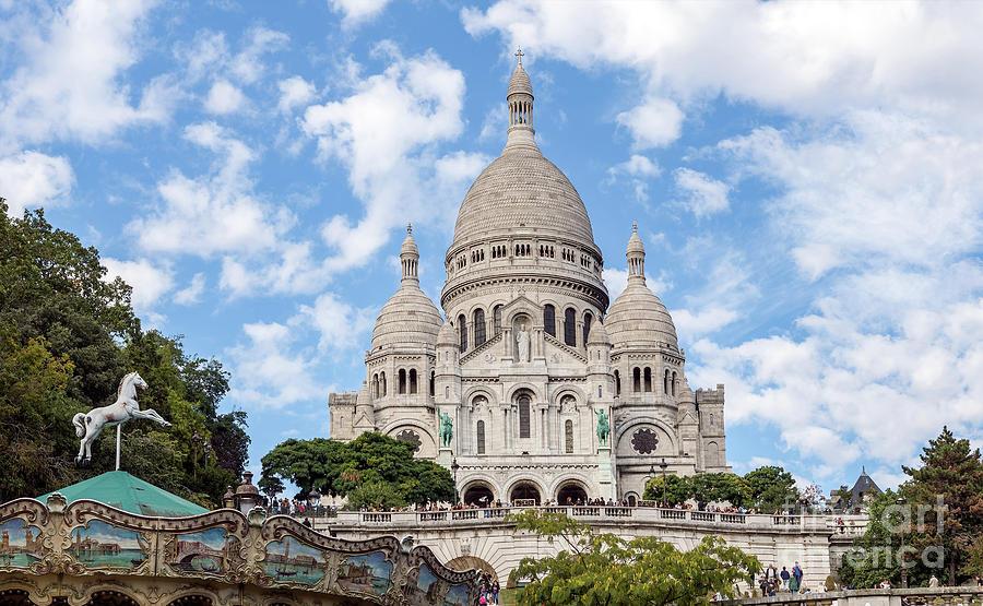 Sacre Coeur Basilica Paris