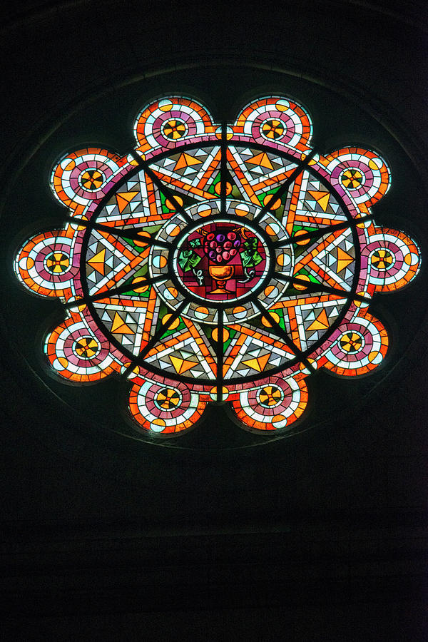 Sacre Coeur Rose Window by Curt Rush