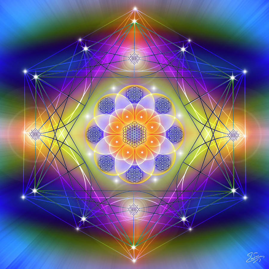 Sacred Geometry 756 by Endre Balogh