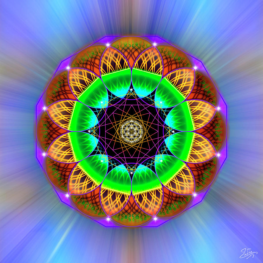 Sacred Geometry 778 by Endre Balogh