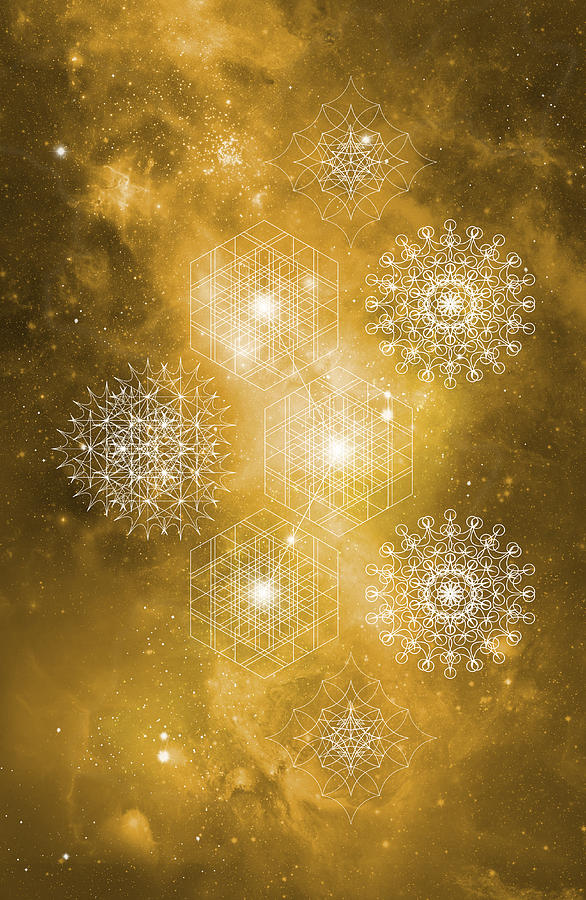 Sacred Geometry Golden Light