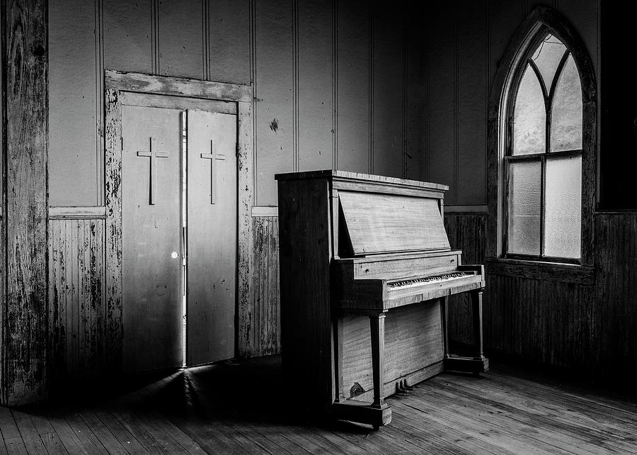 Piano Photograph - Sacred Memories - #5 by Stephen Stookey