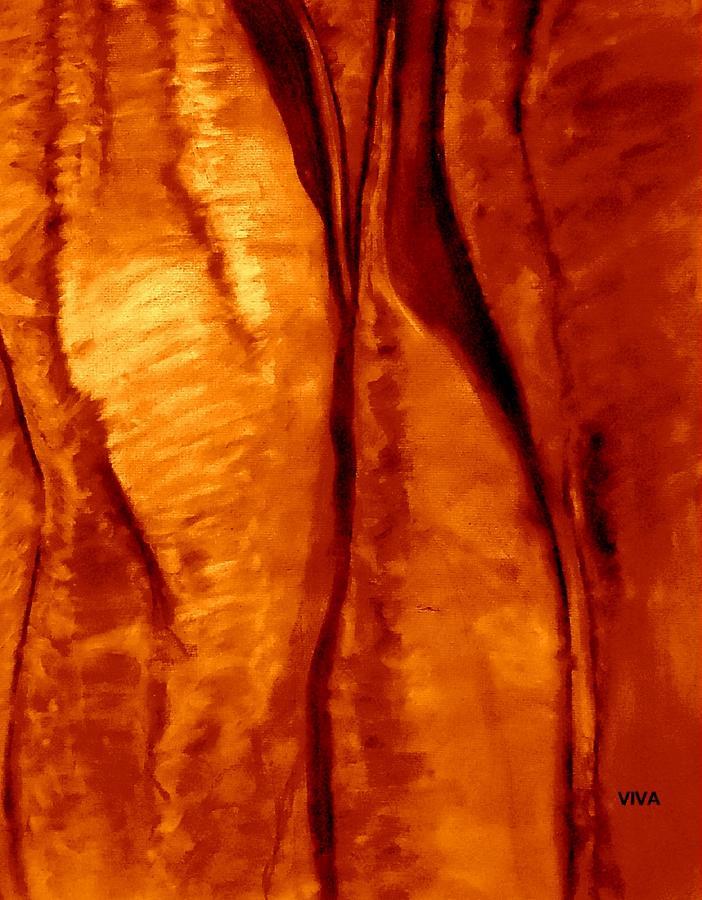 Sacred Uluru  - Up  Close by VIVA Anderson