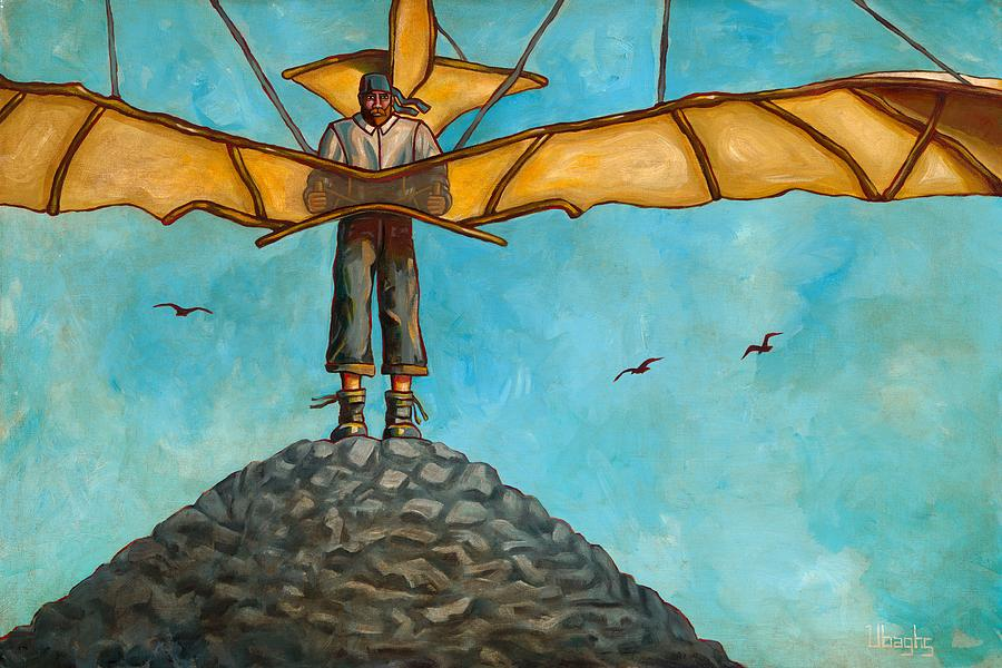 Otto Lilienthal Painting - Sacrifices Must Be Made by Bryan Ubaghs