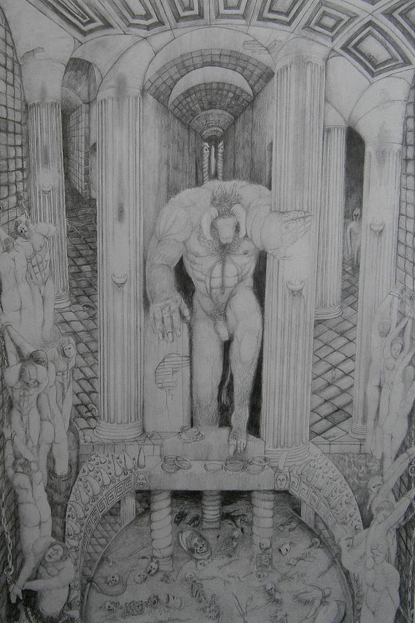 Sacrificial Rites Of The Minotaur by Balkishan Jhumat
