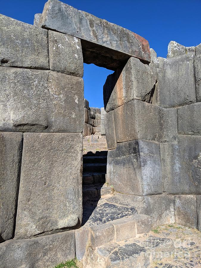 Sacsayhuaman 1 by Julie Pacheco-Toye