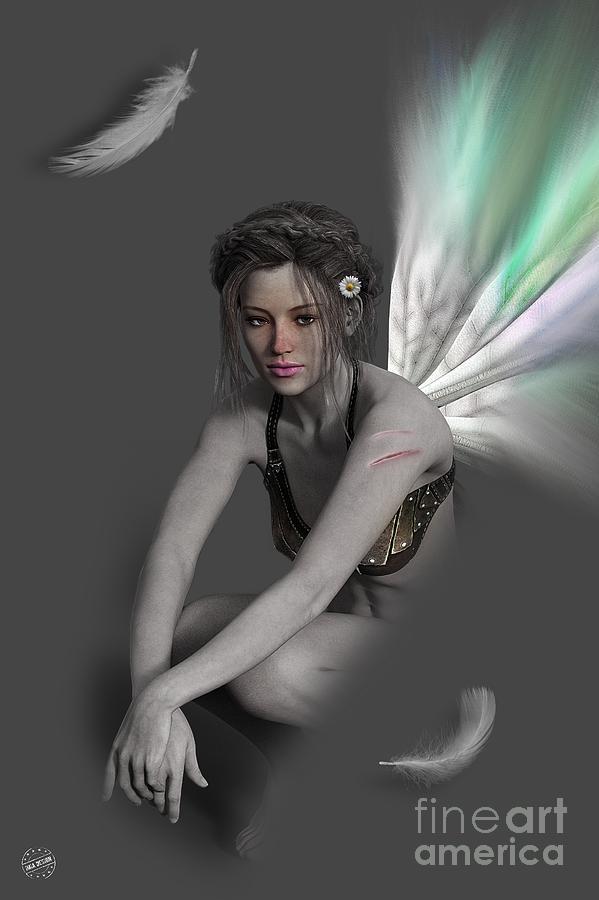Sad Fairy 01 Digital Art