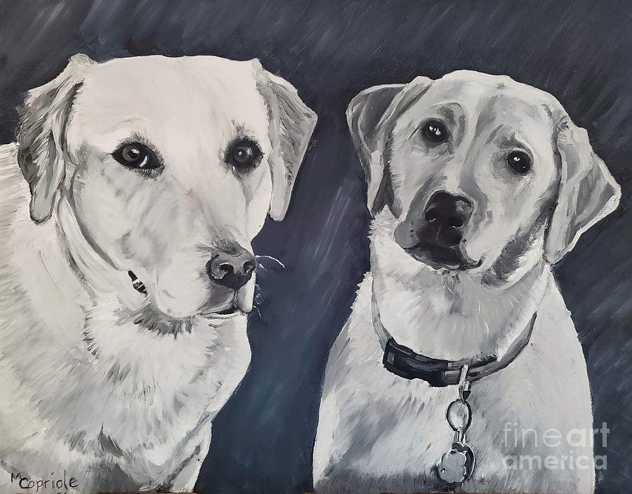 Sadie and Bella by Mary Capriole