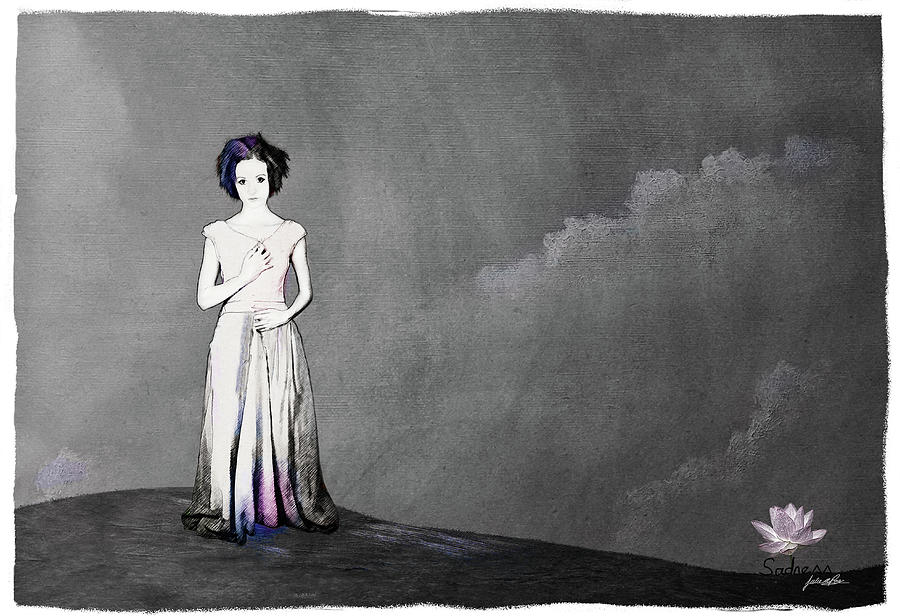 Sadness by Julie m Rae