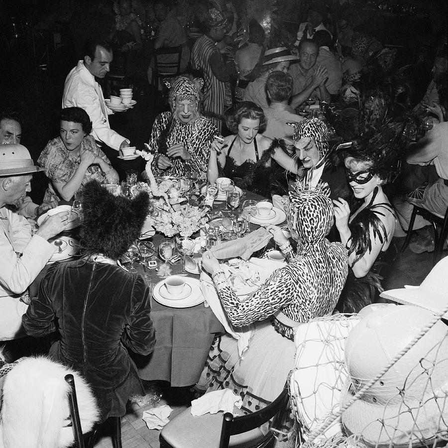 Costume Photograph - Safari Party by Slim Aarons