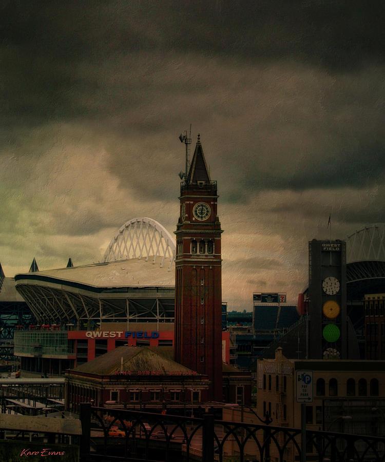 Safeco field Seattle by Karo Evans