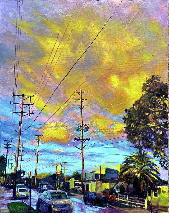 Saffron Sky by Bonnie Lambert